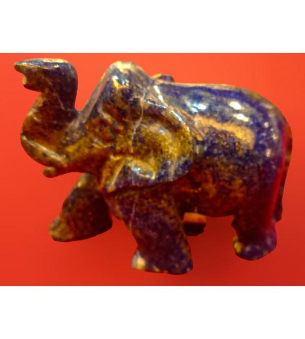 LAPIZE LEZULI ELEPHANT 1.5 inch