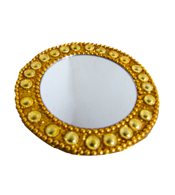 Mirror Ornamented Size 3 Inch