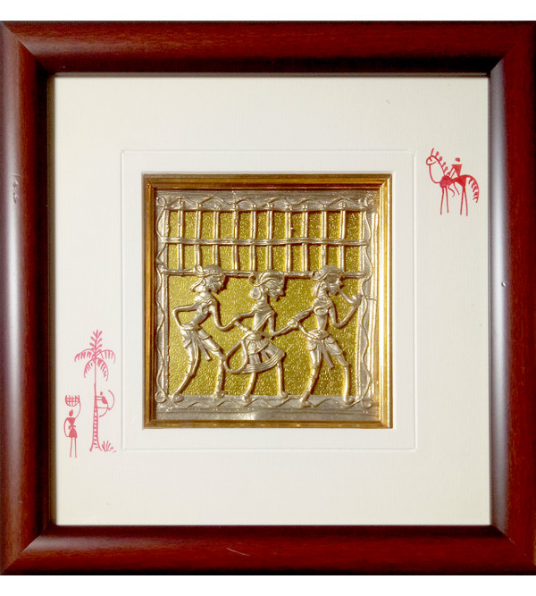 Dhokra Handcrafted Panel
