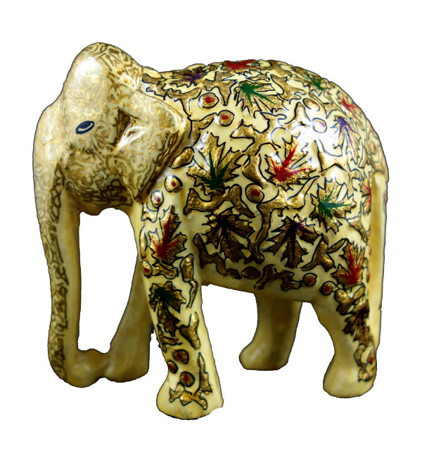 ELEPHANT 4 PAPIER MACHE ASSORTED