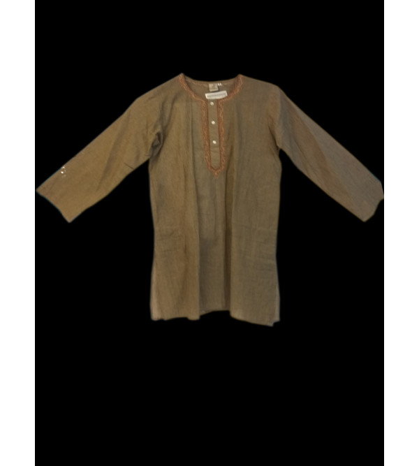 Cotton Kurta Pyjama Set Size 6-8 Years