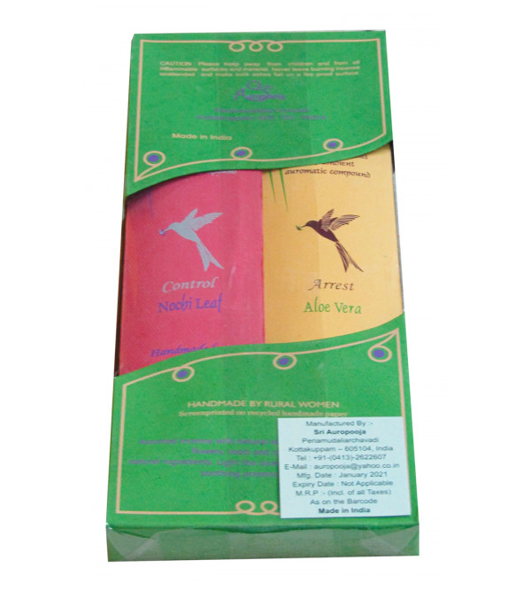 Queen Agarbatti 4 Pcs Set80 Sticks With  Assorted Fragrance