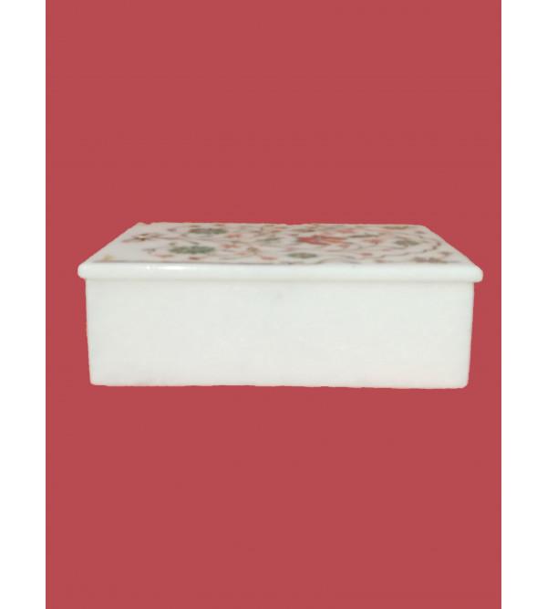 MARBLE BOX  7X5 INCH RECTANGULAR