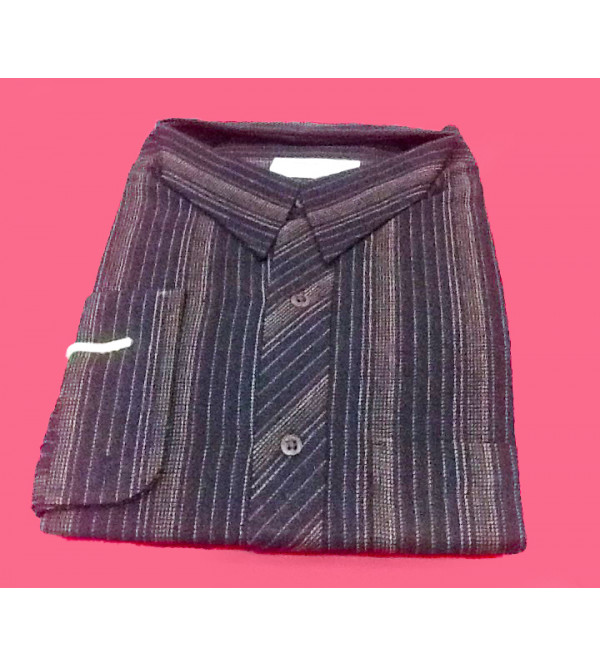Cotton Shirt Full Sleeve Size 44 Inch