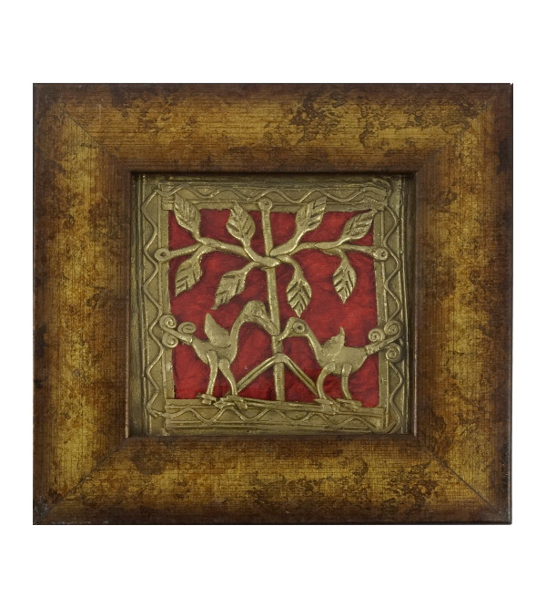 HANDICRAFT DHOKRA PANEL 4X4 INCH ASSORTED