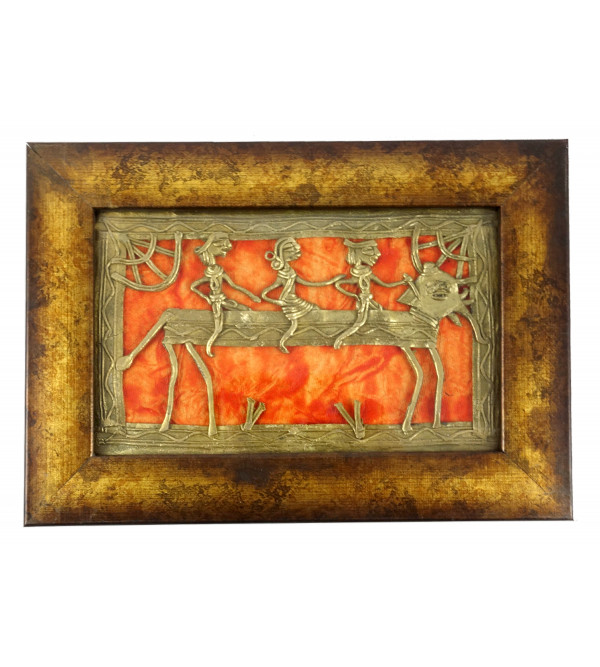Dhokra Handcrafted Panel Size 8X5 Inches