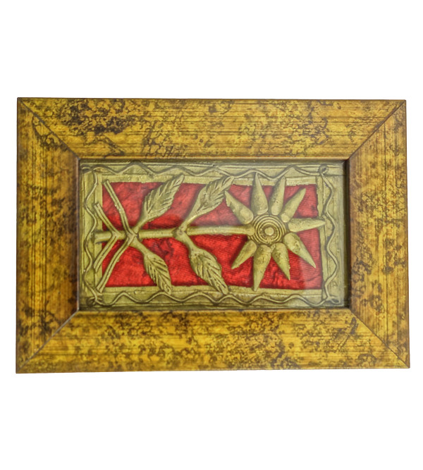Handicraft Dhokra Panel 5x3 Inch Assorted Frame