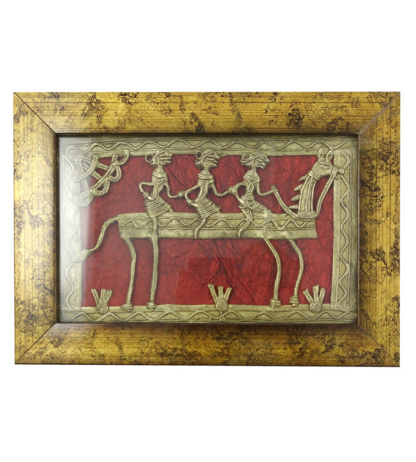 HANDICRAFT ASSORTED DHOKRA 8X5 SINGLE FRAME PANEL 85 INCH