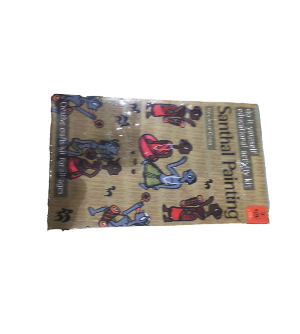 dye indian traditional painting kit