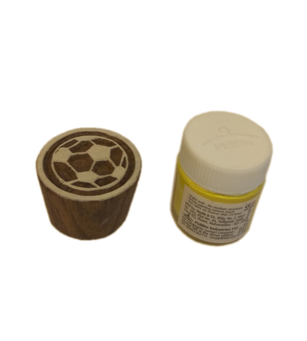 DYE Kit Block Printing Yellow Size 10x6 Inch