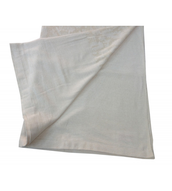 Cotton Cutwork Handwoven Table Cover Size 72x108 Inch