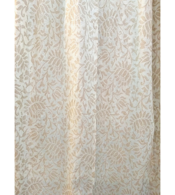 cotton cutwork Handwoven Fabric from Varanasi Size 48 Inch