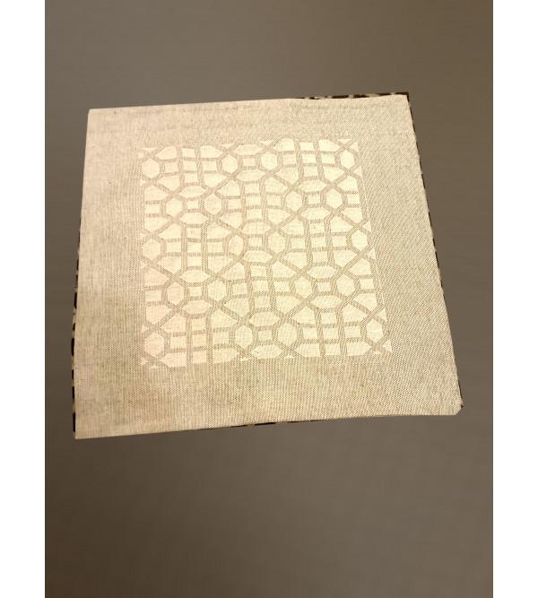 Cutwork Cotton Hand Woven Cushion Cover Size 16x16 Inch