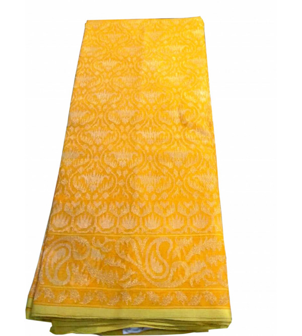Jamdani Cotton Handloom Banaras Kadua Saree with Blouse(Premium)