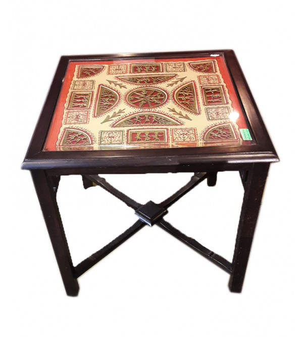 Centre Table With Dhokra Work
