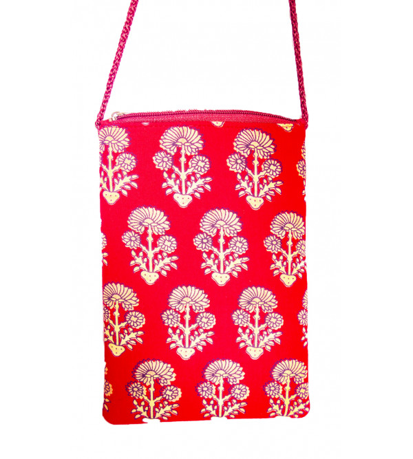 CCIC Sling Bag With Assorted Designs And Colors Size 15x30 Cm