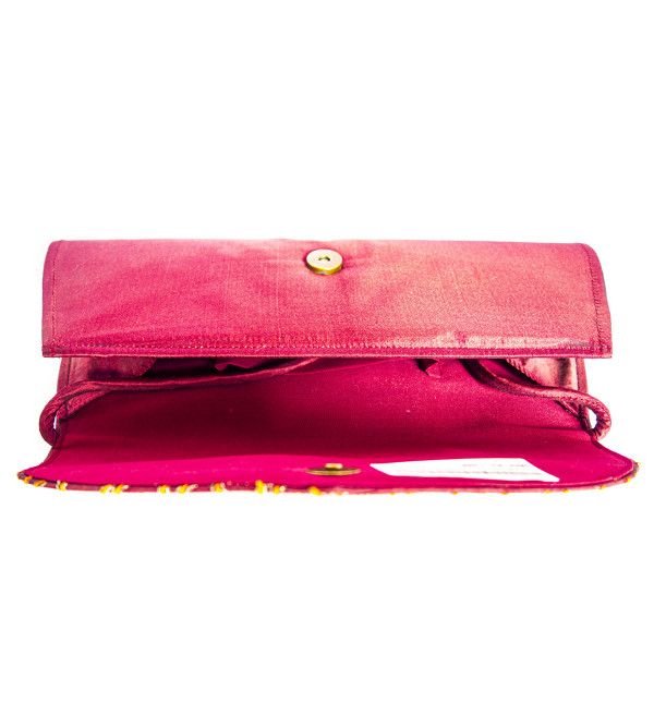CCIC Silk Evening Bag 30X13 Cm Assorted Designs And Colors