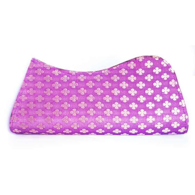 CCIC Silk Clutch Bag Emb Ao 28X13 Cm Assorted Designs And Colors
