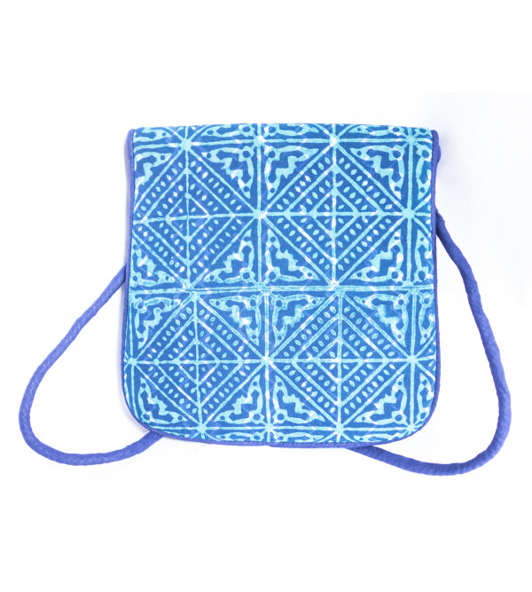 CCIC Cotton Evening Bag 20X20 Cm Assorted Designs And Colors