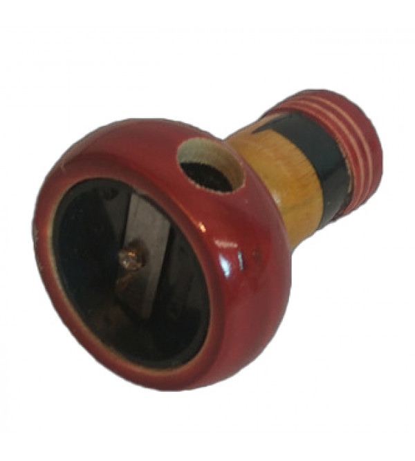 Channapatna Hand Crafted  lacquerware  Pencil Sharpener Size 2 Inch
