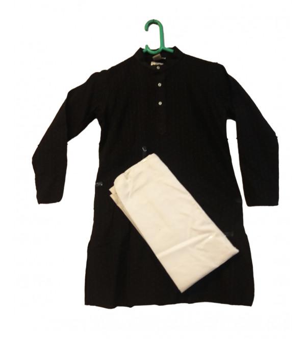 Cotton Woven South Fabric Kurta Pajama For Boys Size 6 to 8 Year