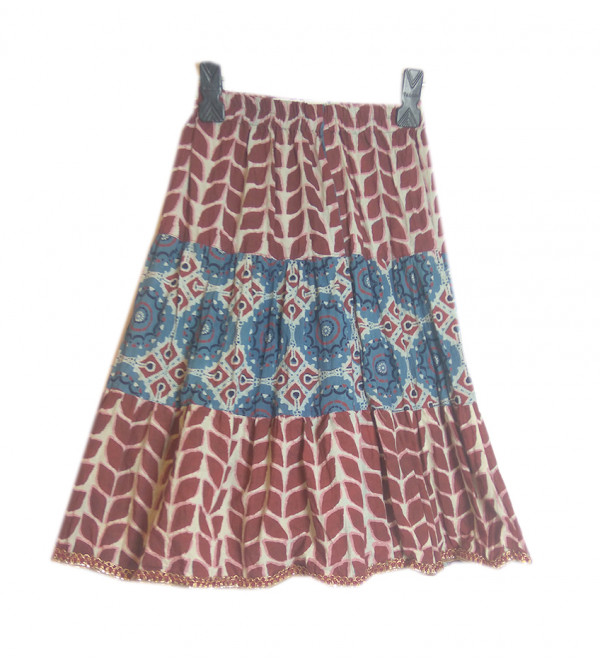 Cotton Printed Skirt Size 2 to 4 yr