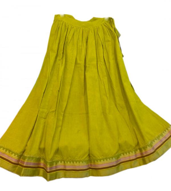 Cotton Lehenga Choli Set Size 6 to 8 Year