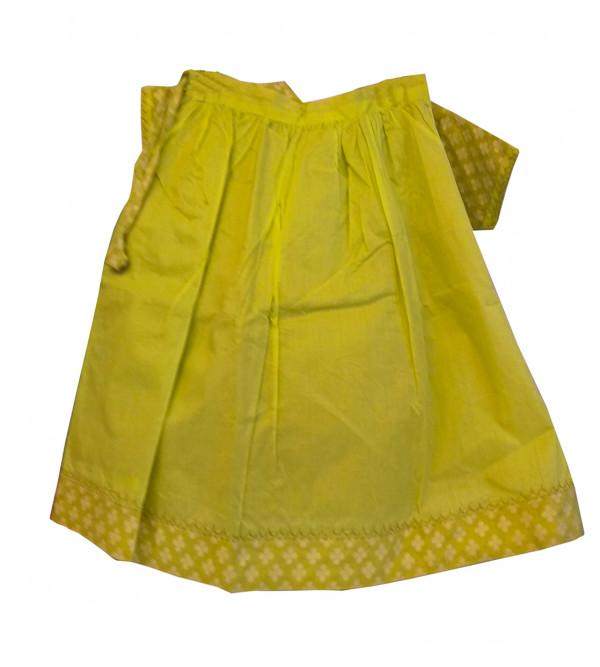 Cotton Lehenga Choli Set Size 2 To 4 year