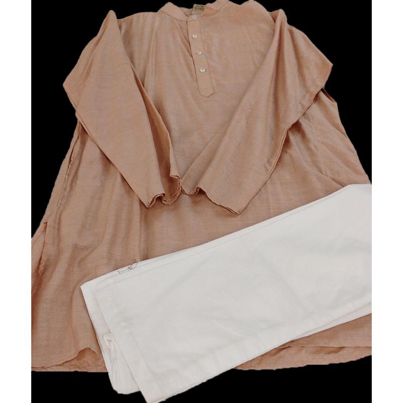 Silk Kurta Pajama Set Size10 to 12 yr