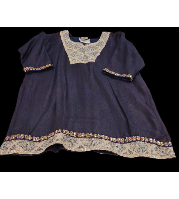 Silk Salwar Kameez Size 10 To 12 Years
