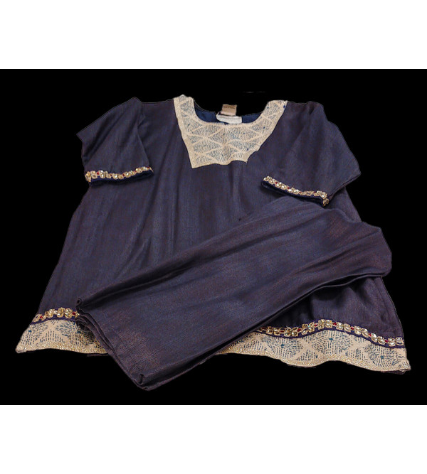 Silk Salwar Kameez  Size 10 To 12Years