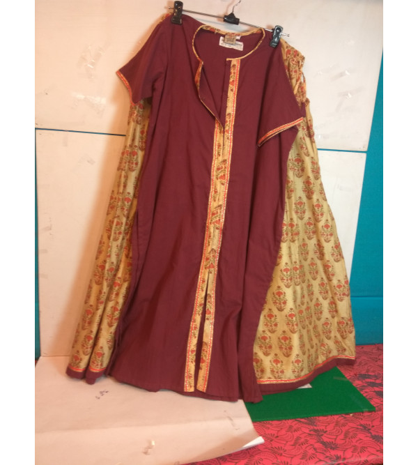 Printed Cotton Lengha Choli Set Size 10 to 12 yr