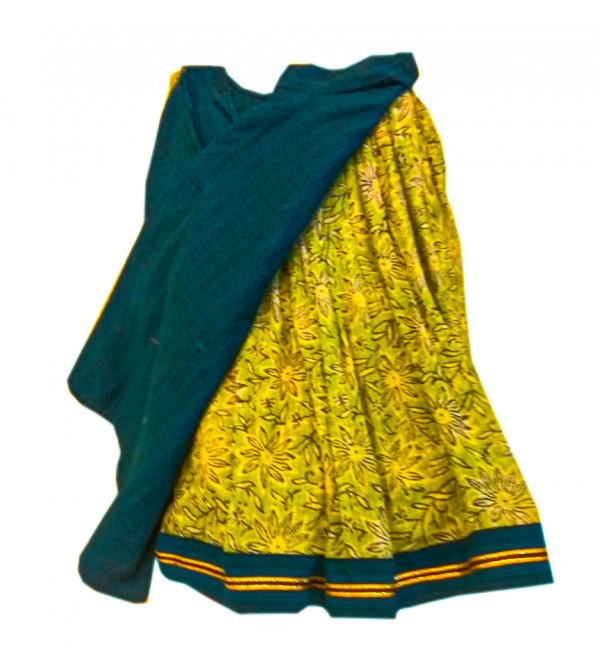 Cotton Kota Fabric Lehenga Choli Set Size 2 to 4 Year