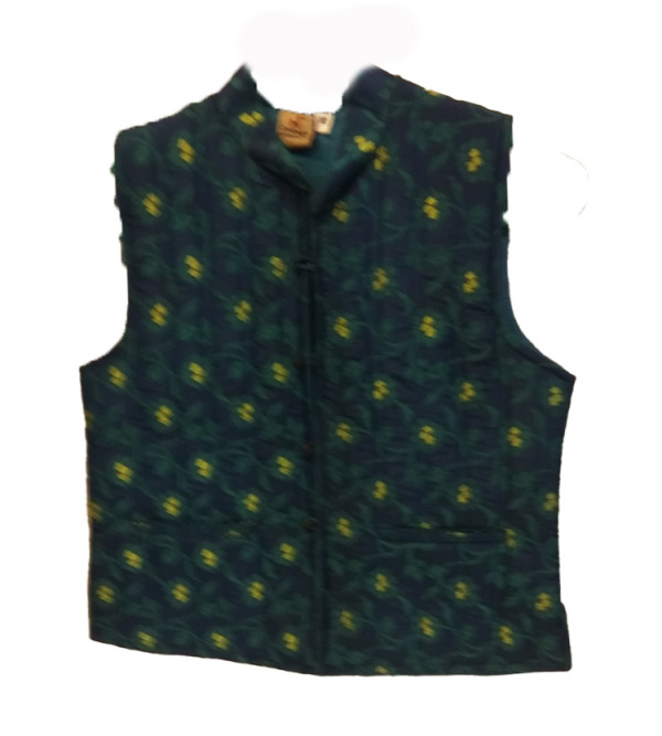 Silk Plain Quilted Jacket Size 6 to 8 Year