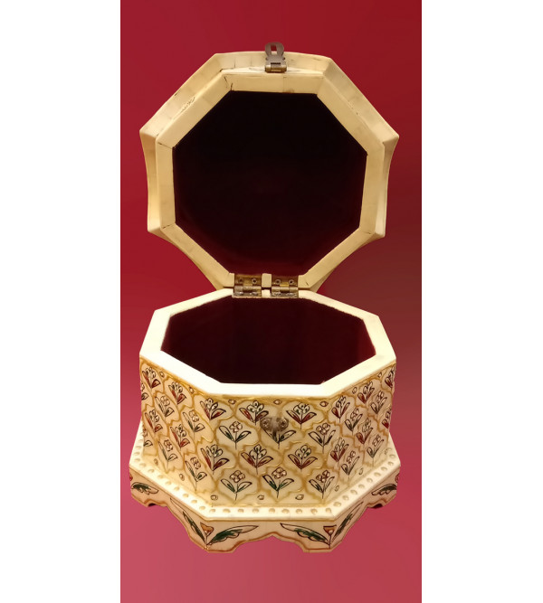 Camel Bone Handcrafted Box Size 8 Inches