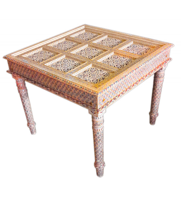 WDN Handcrafted Dining Table camel Bone
