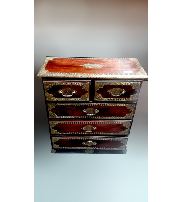 Wooden  Handcrafted Side Cabinet