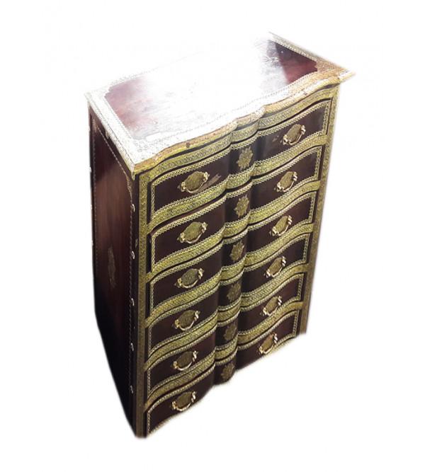 Wooden Handcrafted Shekhawati Cabinet Size 40x20x47 inch