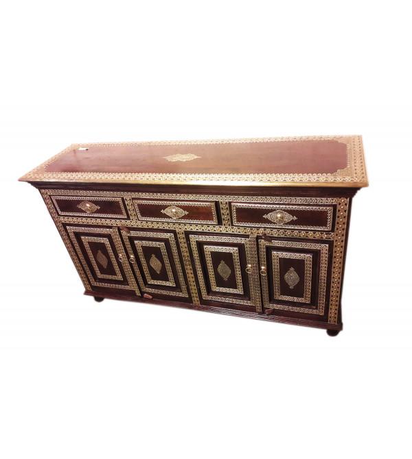 Wooden Sideboard 3 Drawer 4 Door