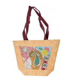 HANDICRAFT BUTIK BUCKET BAG BORDER