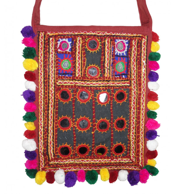 HANDICRAFT ASSORTED SHOPPING BAG AARI SITARA WORK