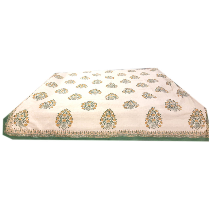 Cotton Printed Dohar Bed Cover Size 90x108 Inch