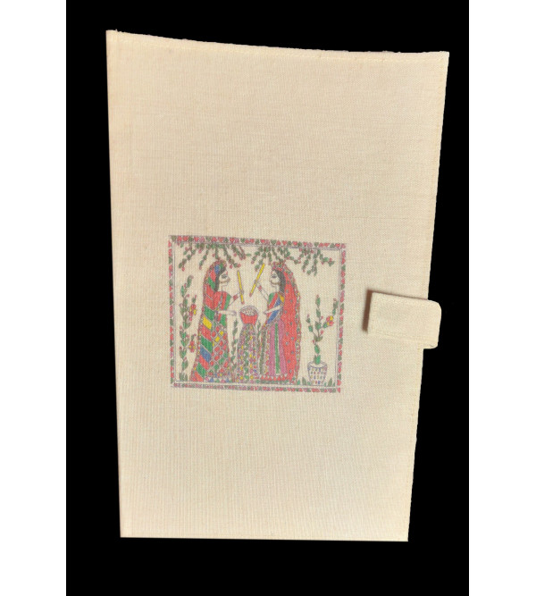 FILE FOLDER JUTE  ASSORTED DESIGNS  AND COLORS