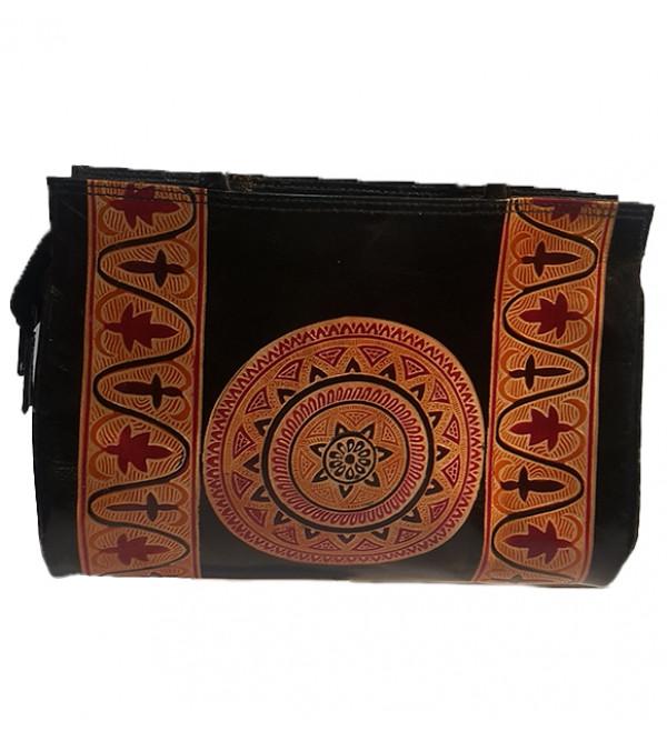 CCIC leather Shoulder Bag Size 10x13 Inch