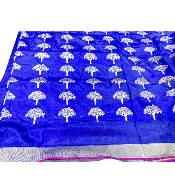 Banaras silk tree design  HANDLOOM SAREE with blouse