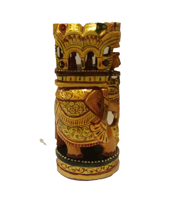 Kadamba Wood Handcrafted Painted Ambari