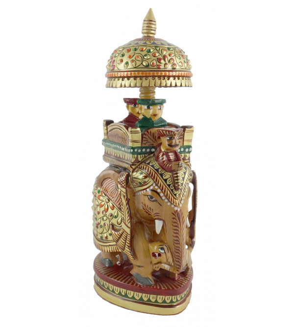 AMBARI PAINTED FINE KADAM WOOD 6 INCH