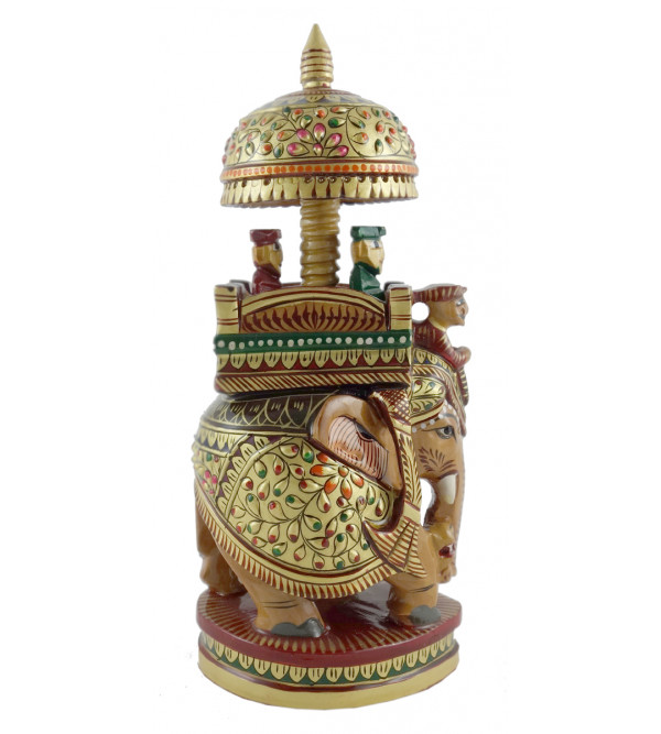 AMBARI PAINTED FINE KADAM WOOD 8 INCH