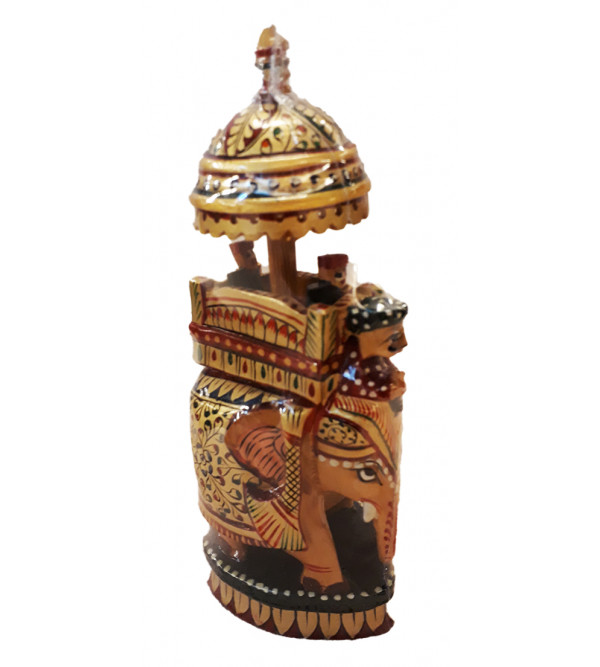 Kadamba Wood Handcrafted Painted Ambari