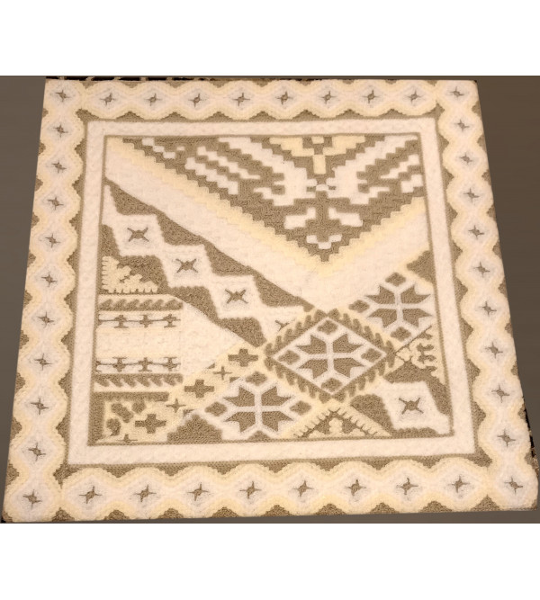 16X16 GUJRATI EMBROIDERY  ASSORTED COTTON CUSSION COVER